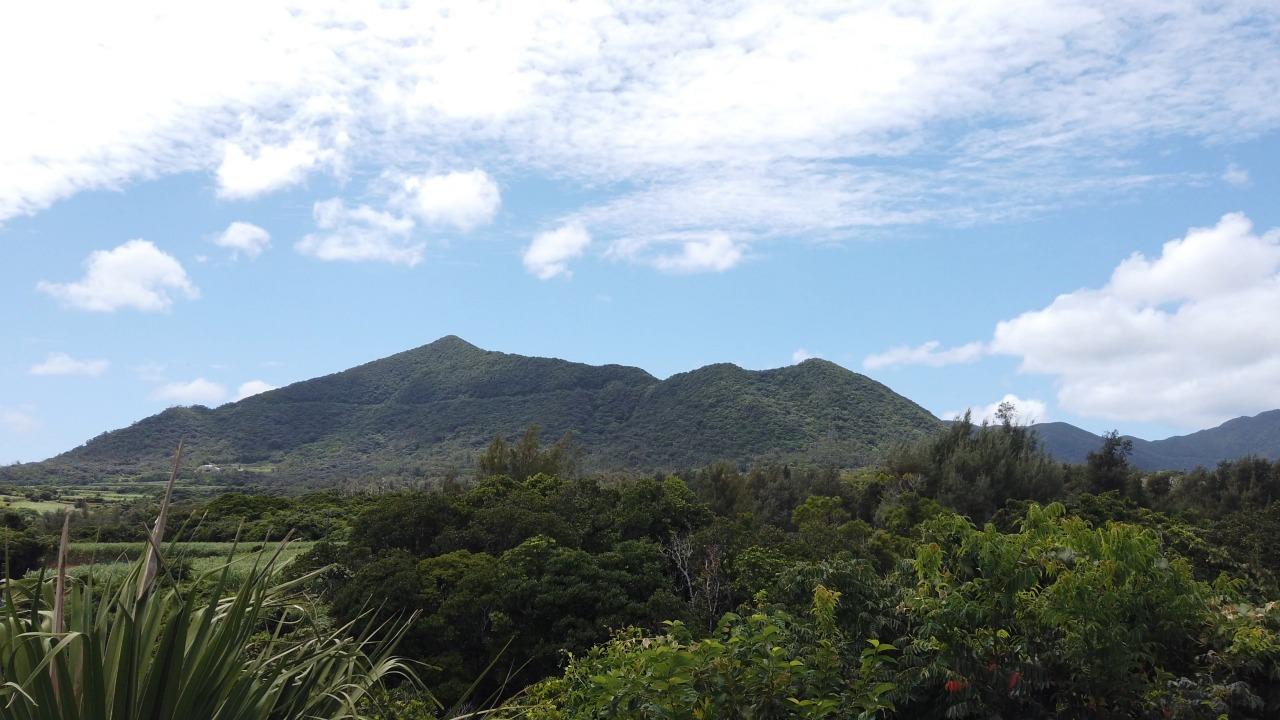 徳之島の最高峰、井之川岳