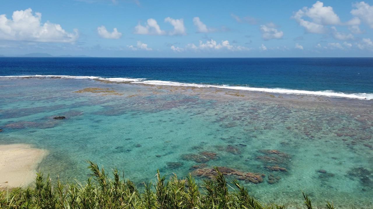 徳之島の美しい海岸