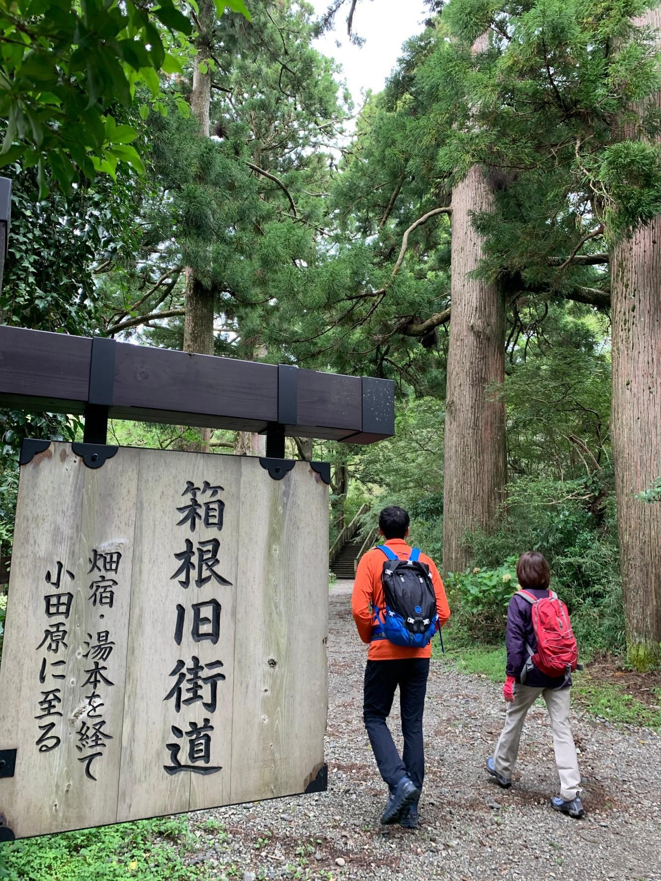 箱根旧街道を辿る