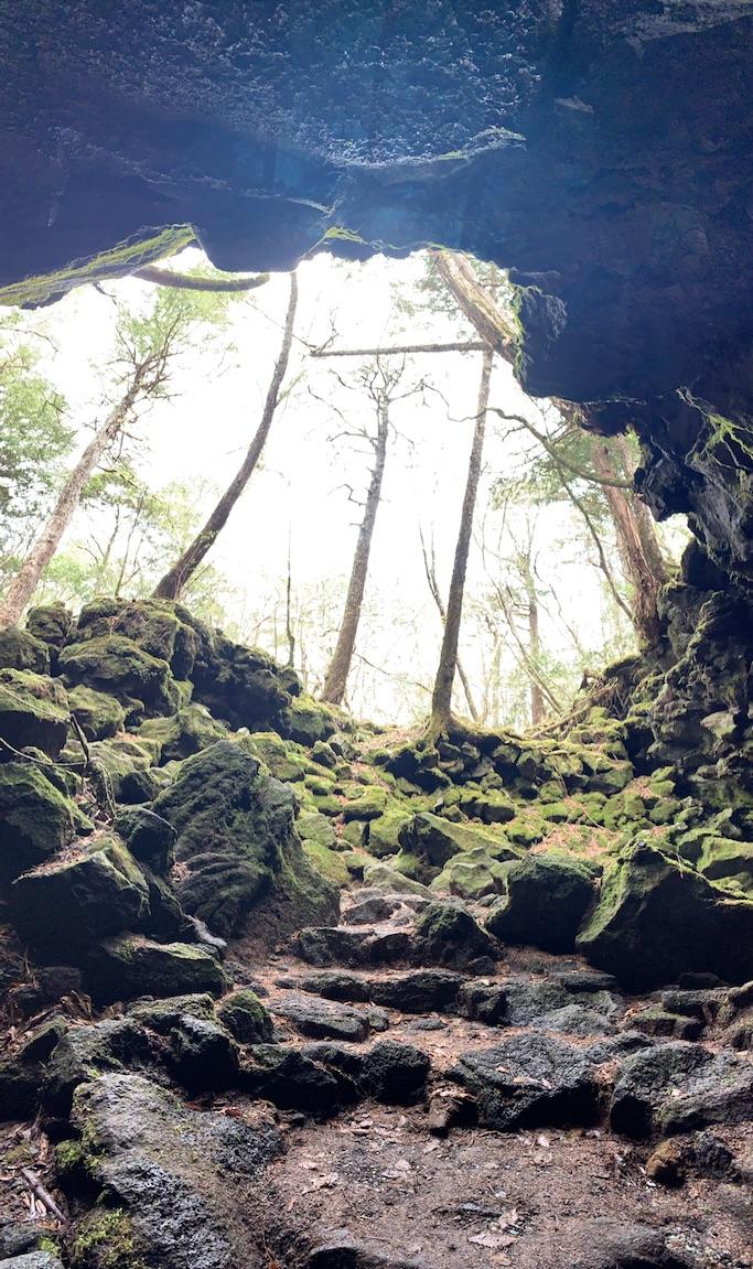 青木ヶ原樹海・竜宮洞穴